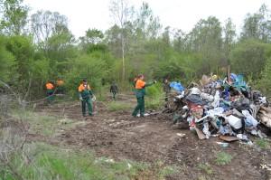 Izvlačenje otpada iz šume